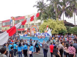 Kegembiraan Di Tengah Keramaian Manado Fiesta 2018
